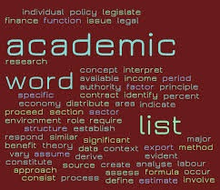 Lista de Palabras Académicas